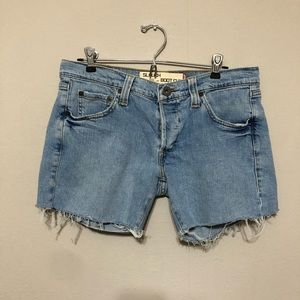 Levi's Slouch 513 Button Fly Cutoff Shorts 9M Jr